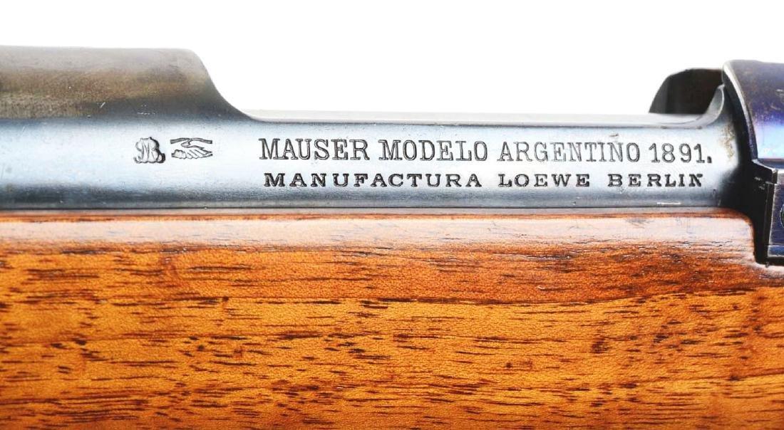 (C) Loewe & Company 1891 Argentine Mauser Carbine. - 6