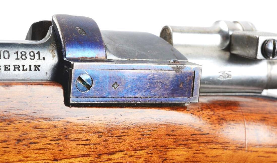 (C) Loewe & Company 1891 Argentine Mauser Carbine. - 7