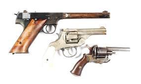 C Lot Of 3 Assorted Handguns