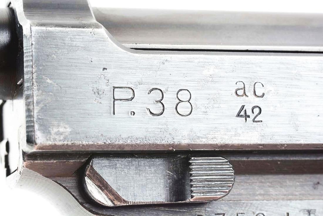 (C) Nazi Marked Walther P38 Semi-Automatic Pistol. - 3