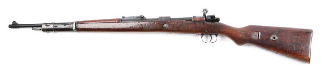 (C) Nazi Marked Mauser Model K98 Bolt Action Rifle. - 2