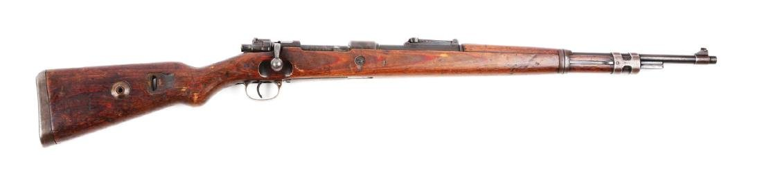 (C) Nazi Marked Mauser Model K98 Bolt Action Rifle.