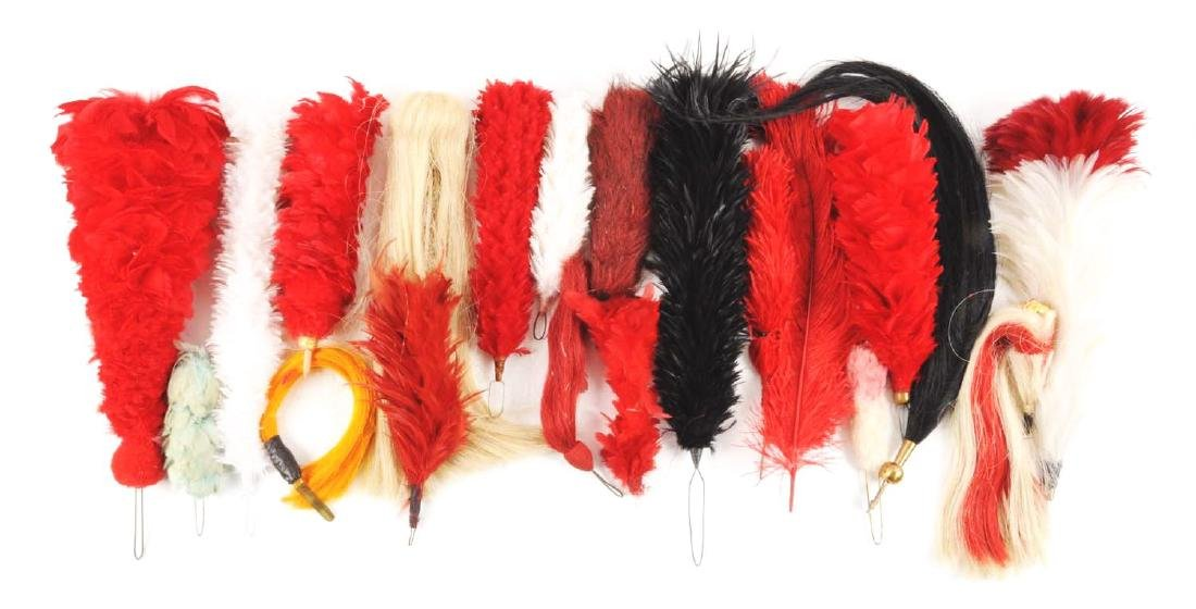 Large Lot Of Plumes & Head Gear Accessories. - 2