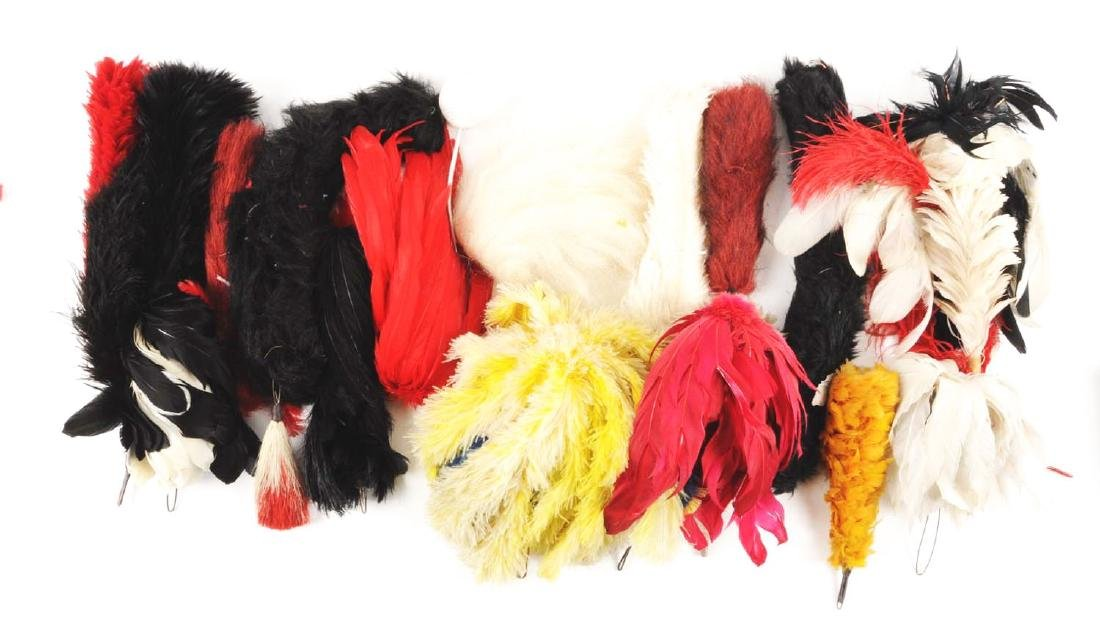 Large Lot Of Plumes & Head Gear Accessories. - 3