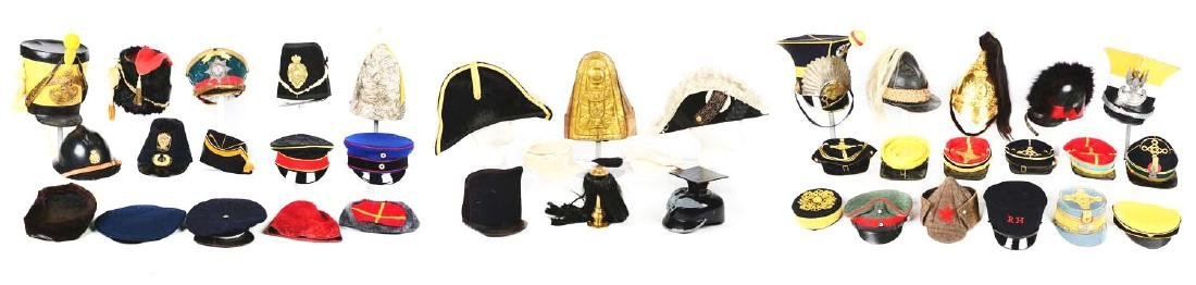 Large Lot Of Reproduction, Costume Hats & Head Gear. - 4