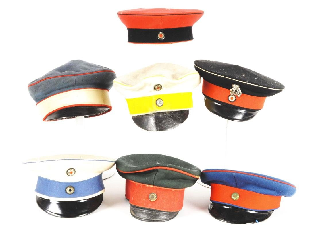 Lot Of Imperial German Hats.