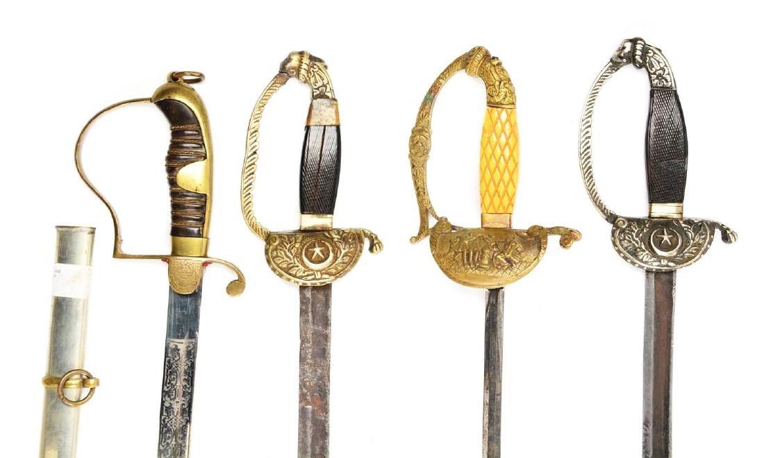 Lot Of 4: Persian Swords. - 3