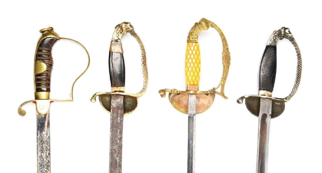 Lot Of 4: Persian Swords. - 4