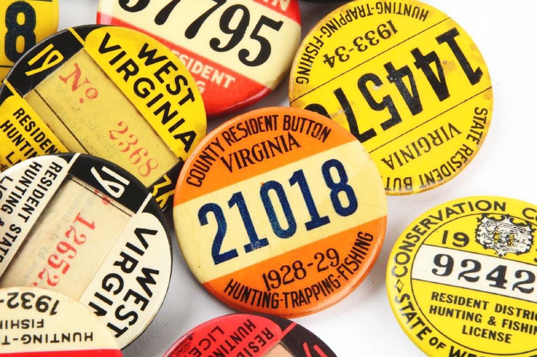 Lot Of 20: Vintage Hunting & Fishing License - 3