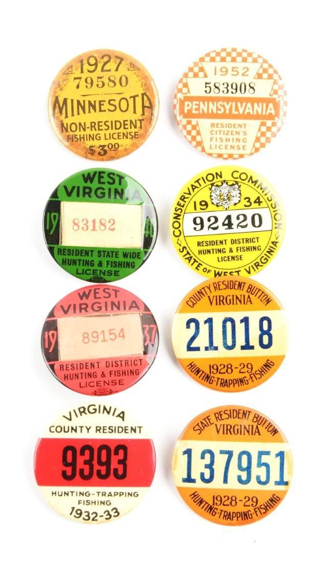 Lot Of 20: Vintage Hunting & Fishing License - 4