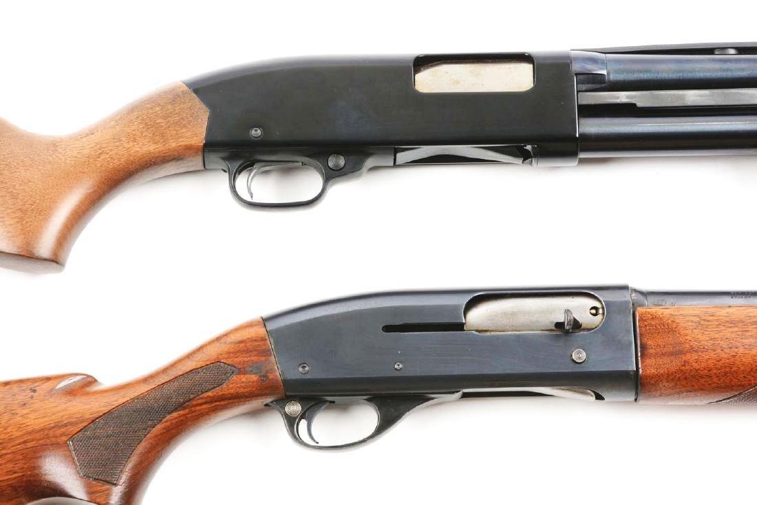 (C) Lot Of 2: Remington & Winchester Shotguns. - 3