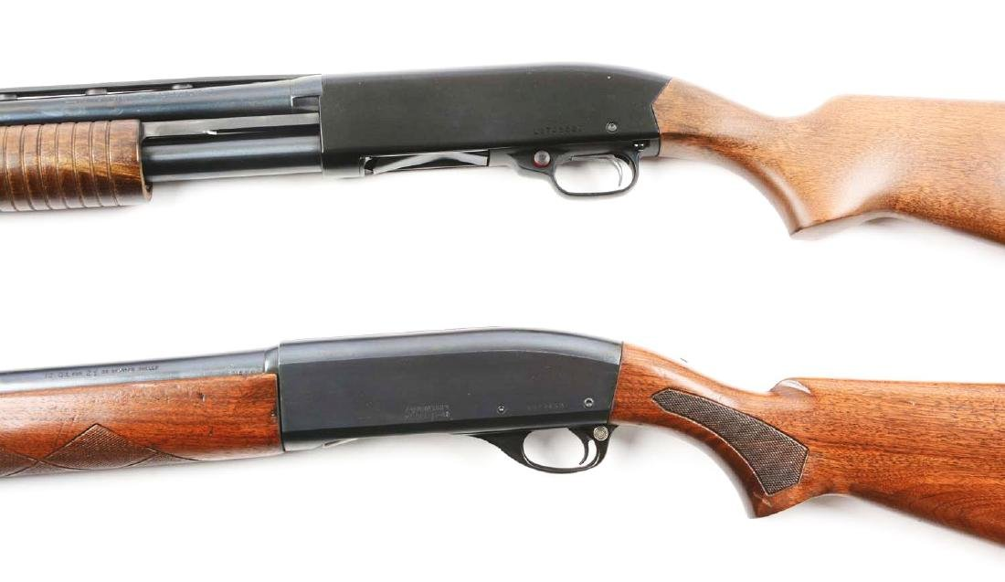 (C) Lot Of 2: Remington & Winchester Shotguns. - 4