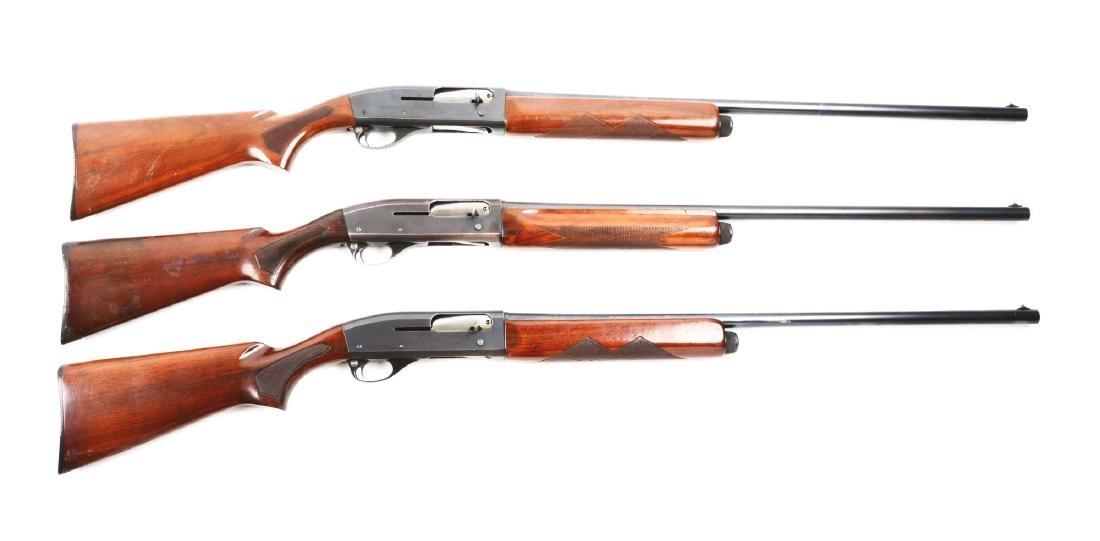 (M) Lot Of 3: Remington Model 11-48 Shotguns.