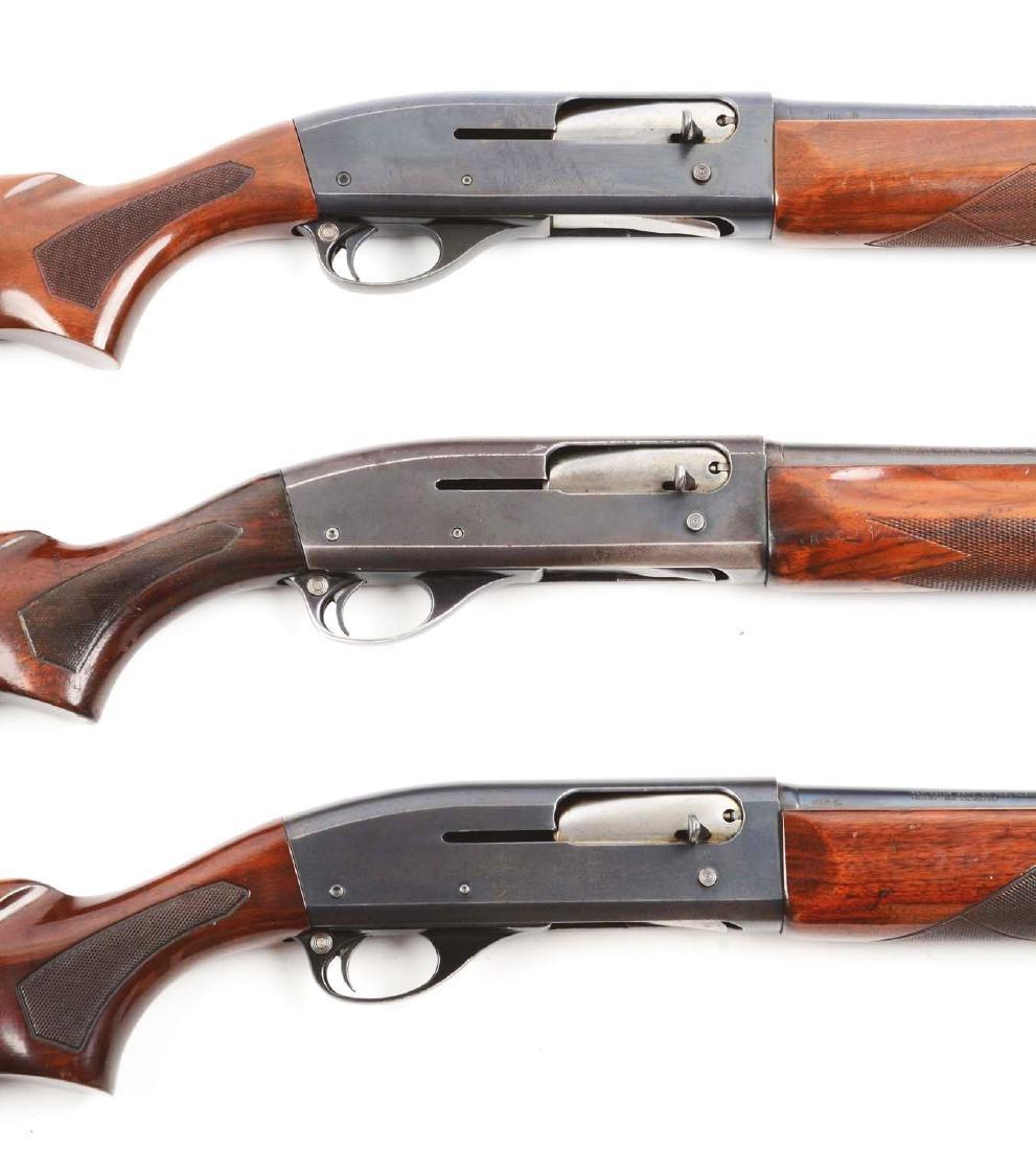 (M) Lot Of 3: Remington Model 11-48 Shotguns. - 2