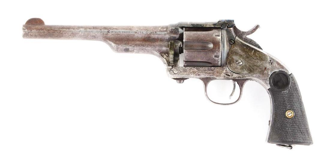(A) Merwin & Hulbert 3rd Model Single Action Revolver. - 2