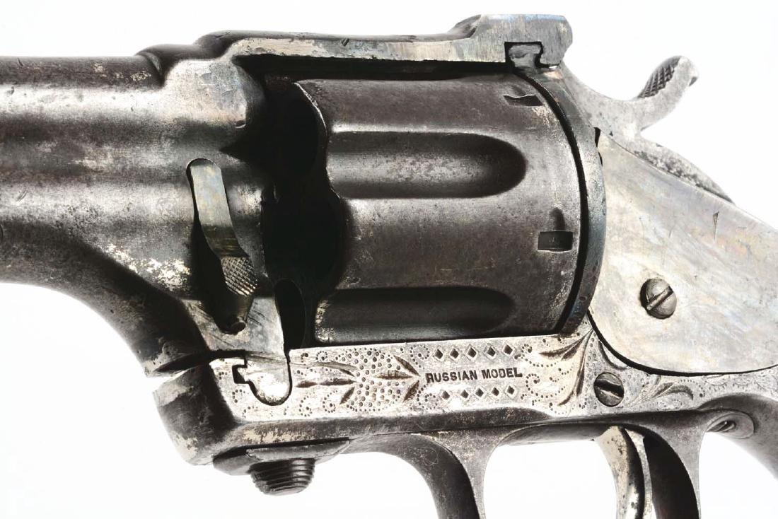 (A) Merwin & Hulbert 3rd Model Single Action Revolver. - 5