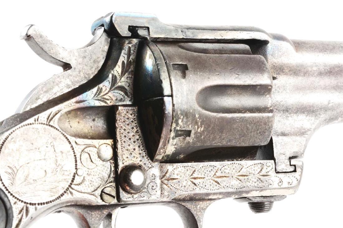 (A) Merwin & Hulbert 3rd Model Single Action Revolver. - 7