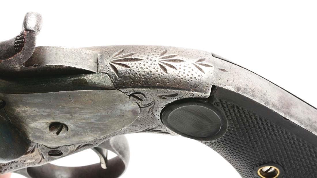 (A) Merwin & Hulbert 3rd Model Single Action Revolver. - 9