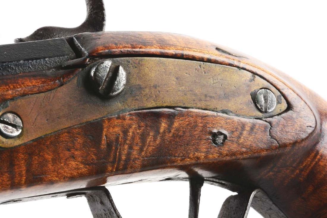 (A) Fullstock Percussion Kentucky Pistol. - 3