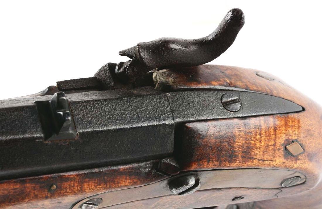 (A) Fullstock Percussion Kentucky Pistol. - 4