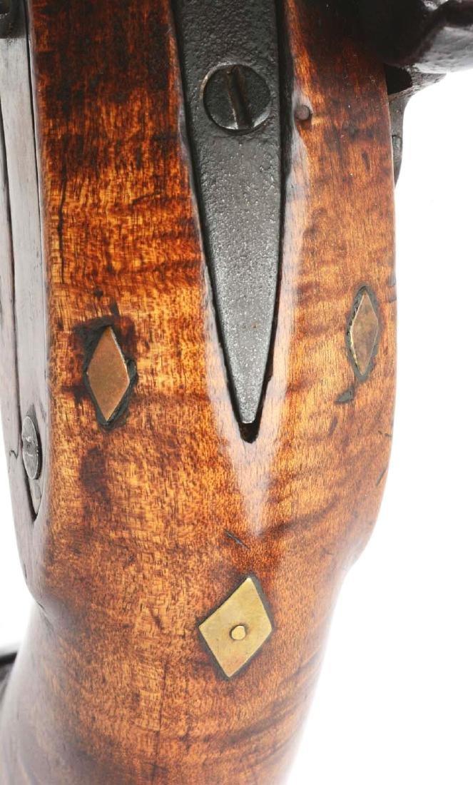 (A) Fullstock Percussion Kentucky Pistol. - 5