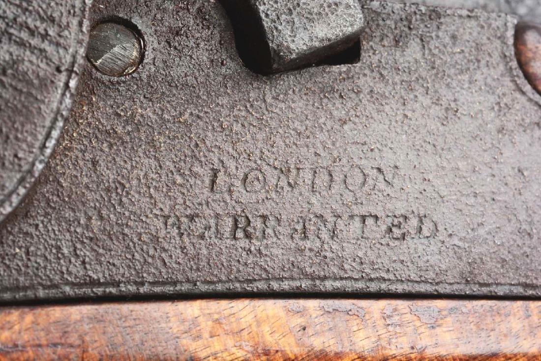 (A) Fullstock Percussion Kentucky Pistol. - 8