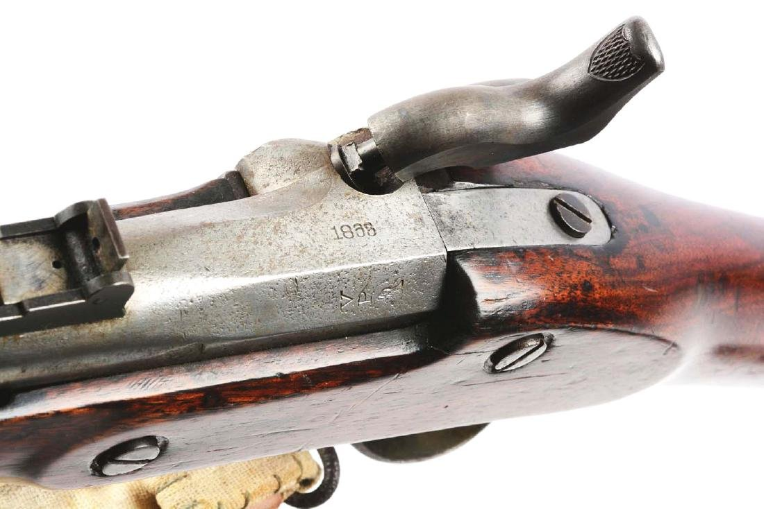 (A) Altered U.S. Springfield Model 1863 Rifle. - 10