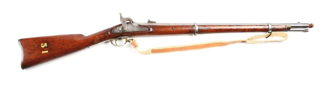 (A) Altered U.S. Springfield Model 1863 Rifle.