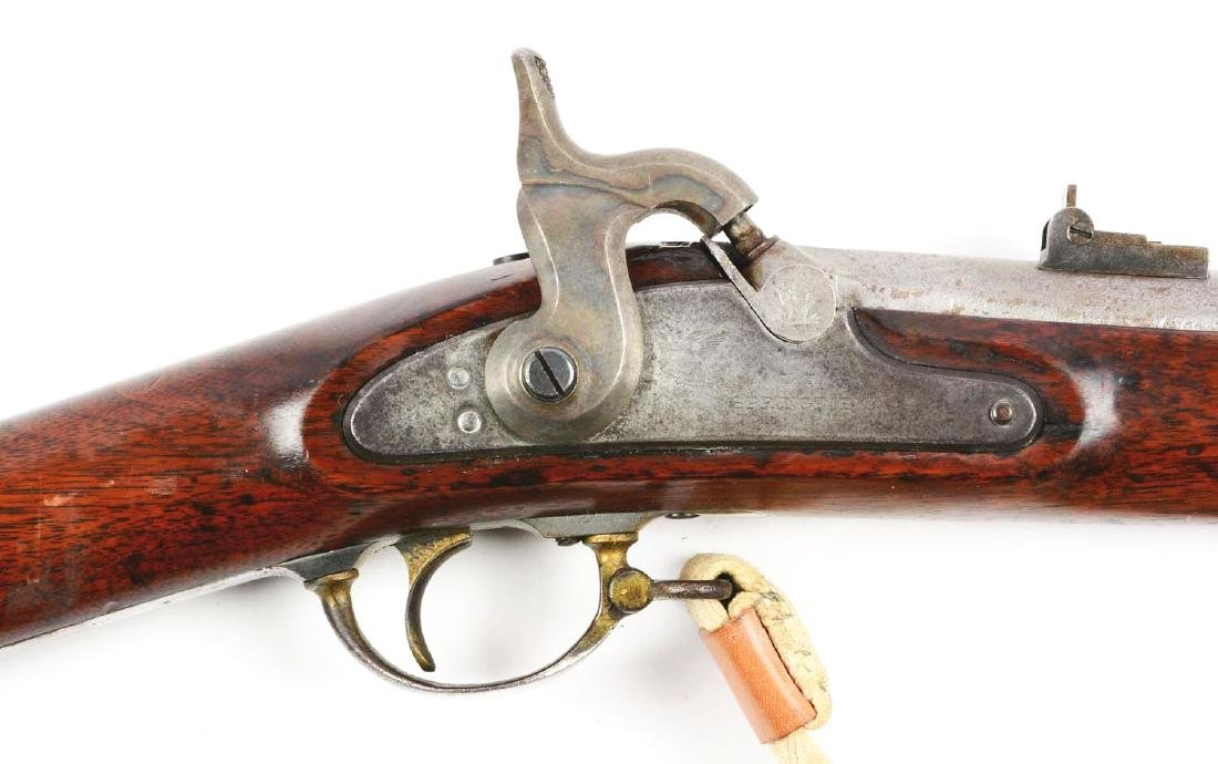 (A) Altered U.S. Springfield Model 1863 Rifle. - 3