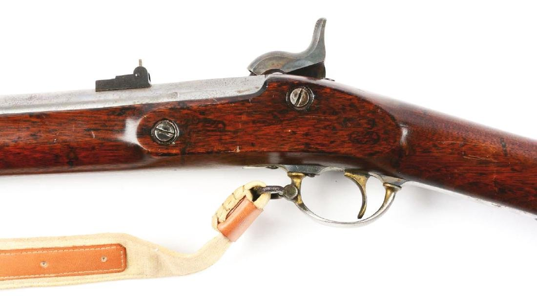 (A) Altered U.S. Springfield Model 1863 Rifle. - 4