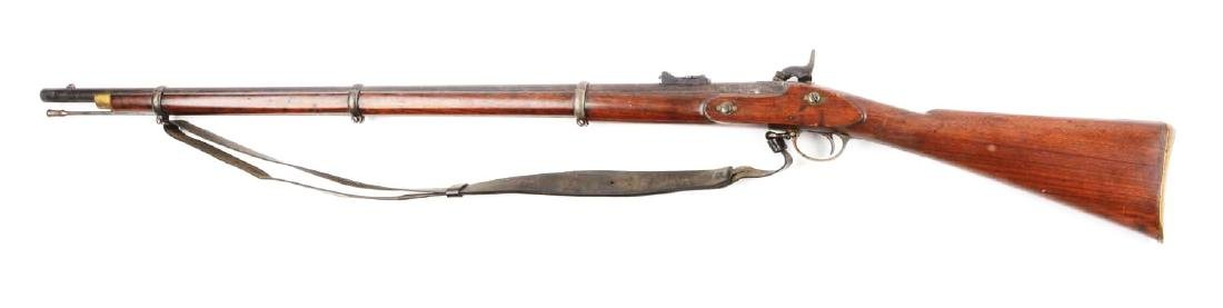 (A) British Model 1853 Enfield Rifle - Musket With - 2