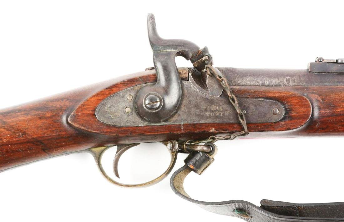 (A) British Model 1853 Enfield Rifle - Musket With - 3