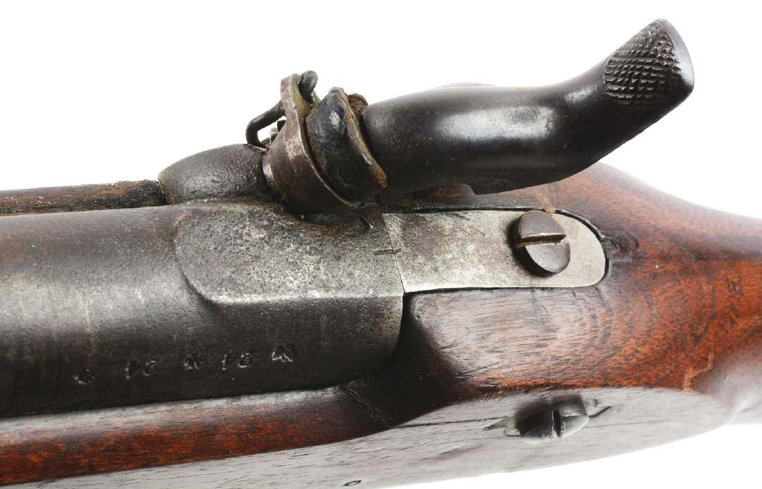 (A) British Model 1853 Enfield Rifle - Musket With - 7