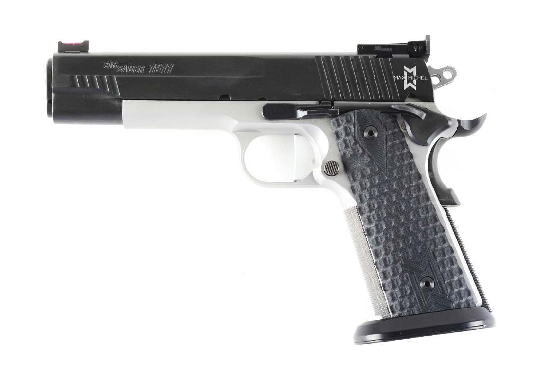 (M) Cased Sig Sauer Model 1911 Max Michel - 2