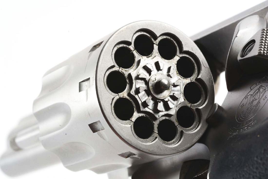 (M) Cased S&W Model 617-2 Double Action Revolver. - 10