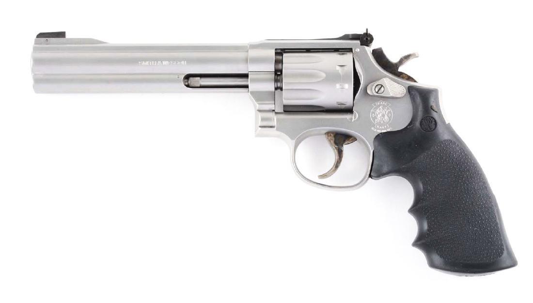 (M) Cased S&W Model 617-2 Double Action Revolver. - 2