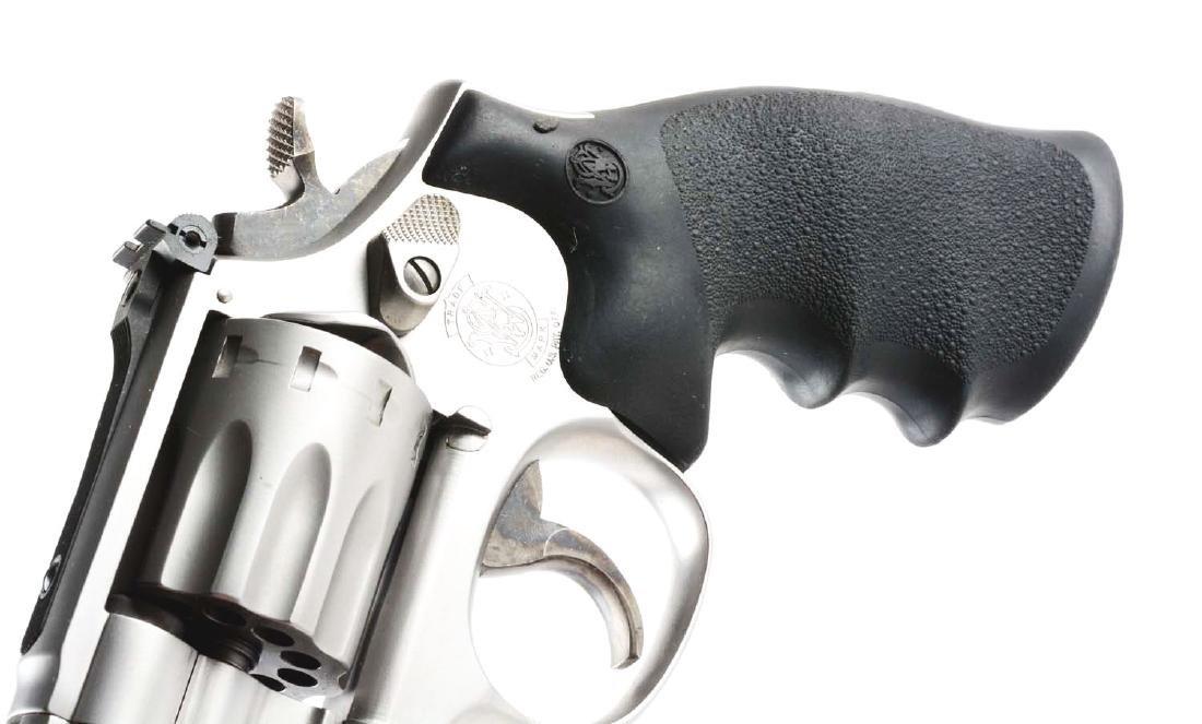 (M) Cased S&W Model 617-2 Double Action Revolver. - 6