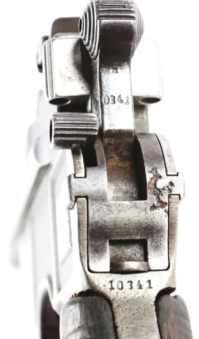 (C) Mauser C96 Broomhandle (Bolo) Semi-Automatic - 3