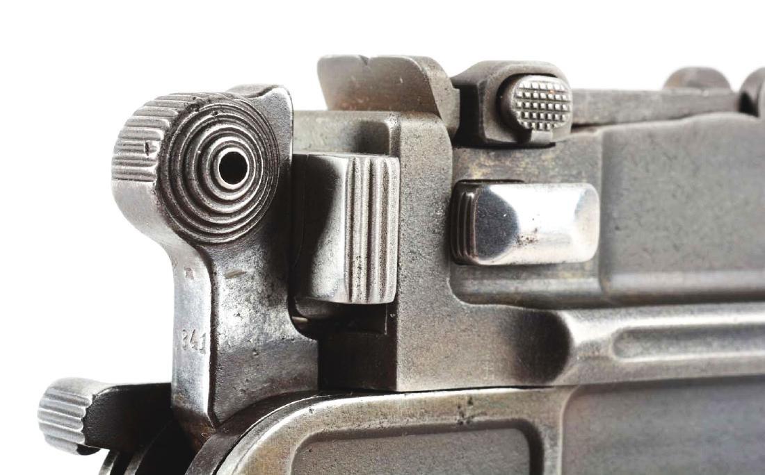 (C) Mauser C96 Broomhandle (Bolo) Semi-Automatic - 9
