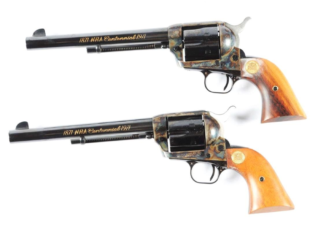 (M) Consecutive Numbered Pair Colt Single Action Army - 2