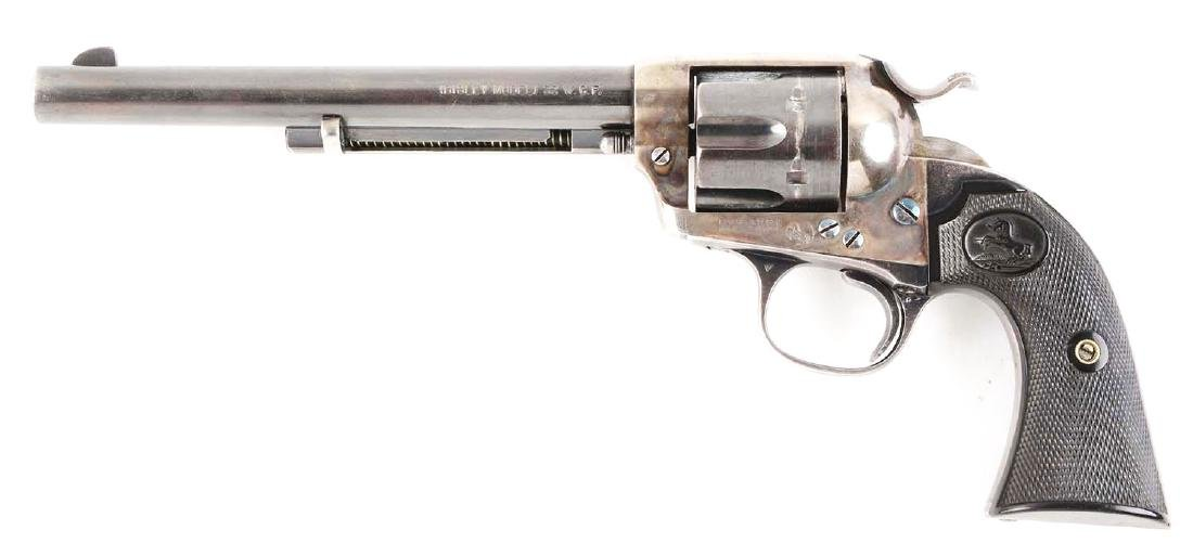 (C) Fine Colt Pre-War Bisley Single Action Revolver. - 2