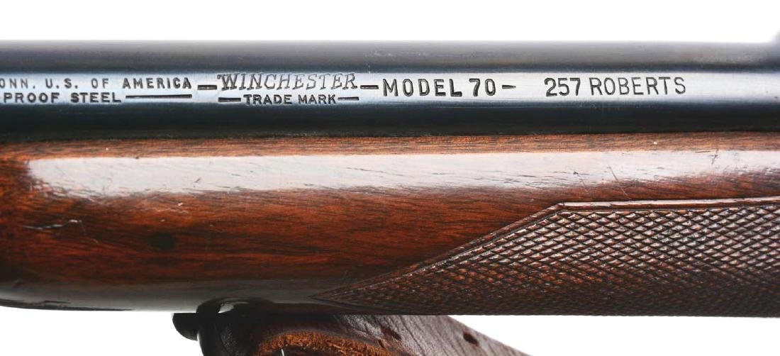 (C) Pre-64 Winchester Model 70 Bolt Action Rifle (.257 - 8