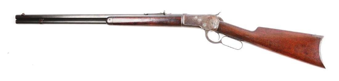 (C) Winchester Model 1892 Lever Action Rifle. - 2