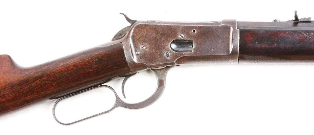 (C) Winchester Model 1892 Lever Action Rifle. - 3