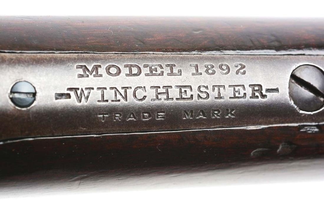 (C) Winchester Model 1892 Lever Action Rifle. - 6