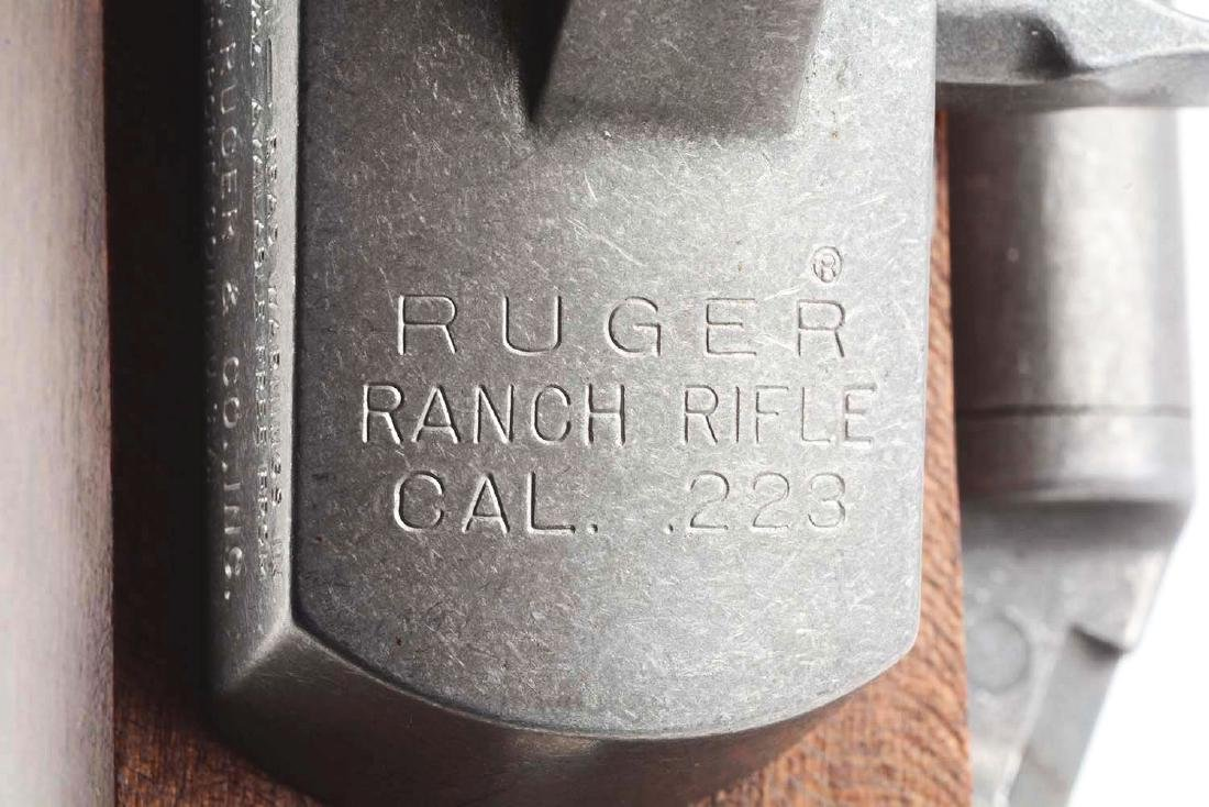 (M) Custom Stainless Ruger Ranch Rifle. - 6