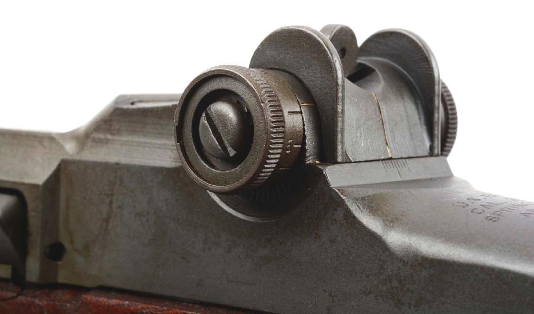 (C) U.S. Springfield M1 Garand Semi-Automatic Rifle. - 10