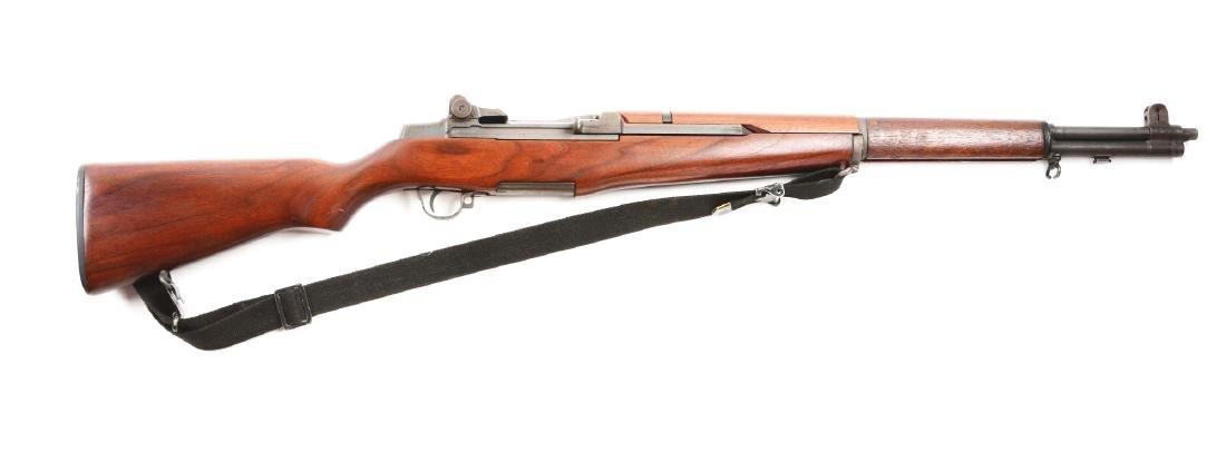 (C) U.S. Springfield M1 Garand Semi-Automatic Rifle.
