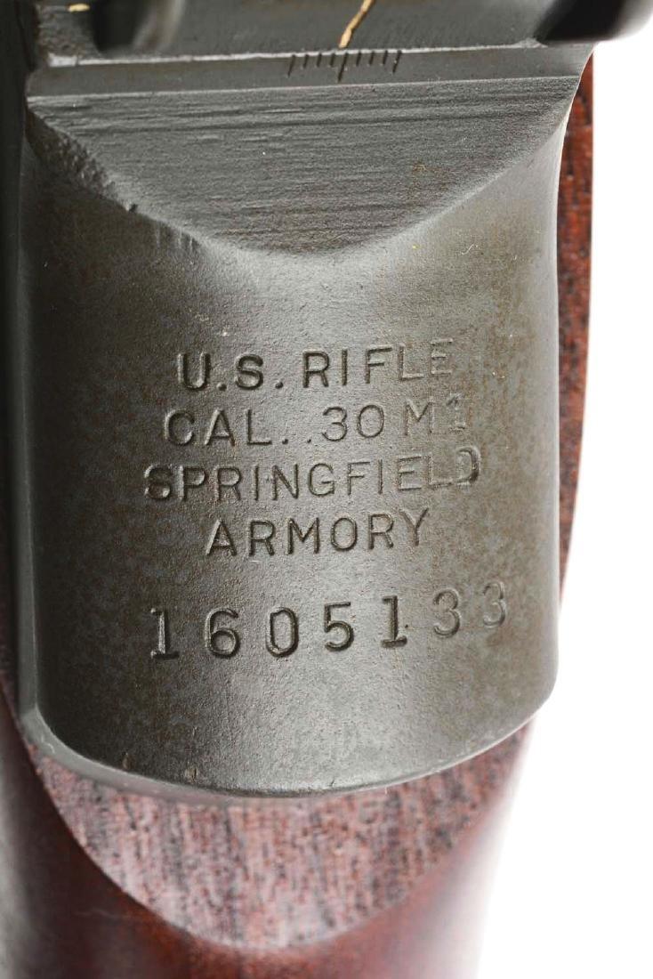 (C) U.S. Springfield M1 Garand Semi-Automatic Rifle. - 6