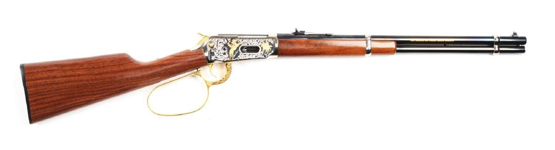 (M) Roy Rogers & Gabby Hayes Winchester Comm. Rifle.